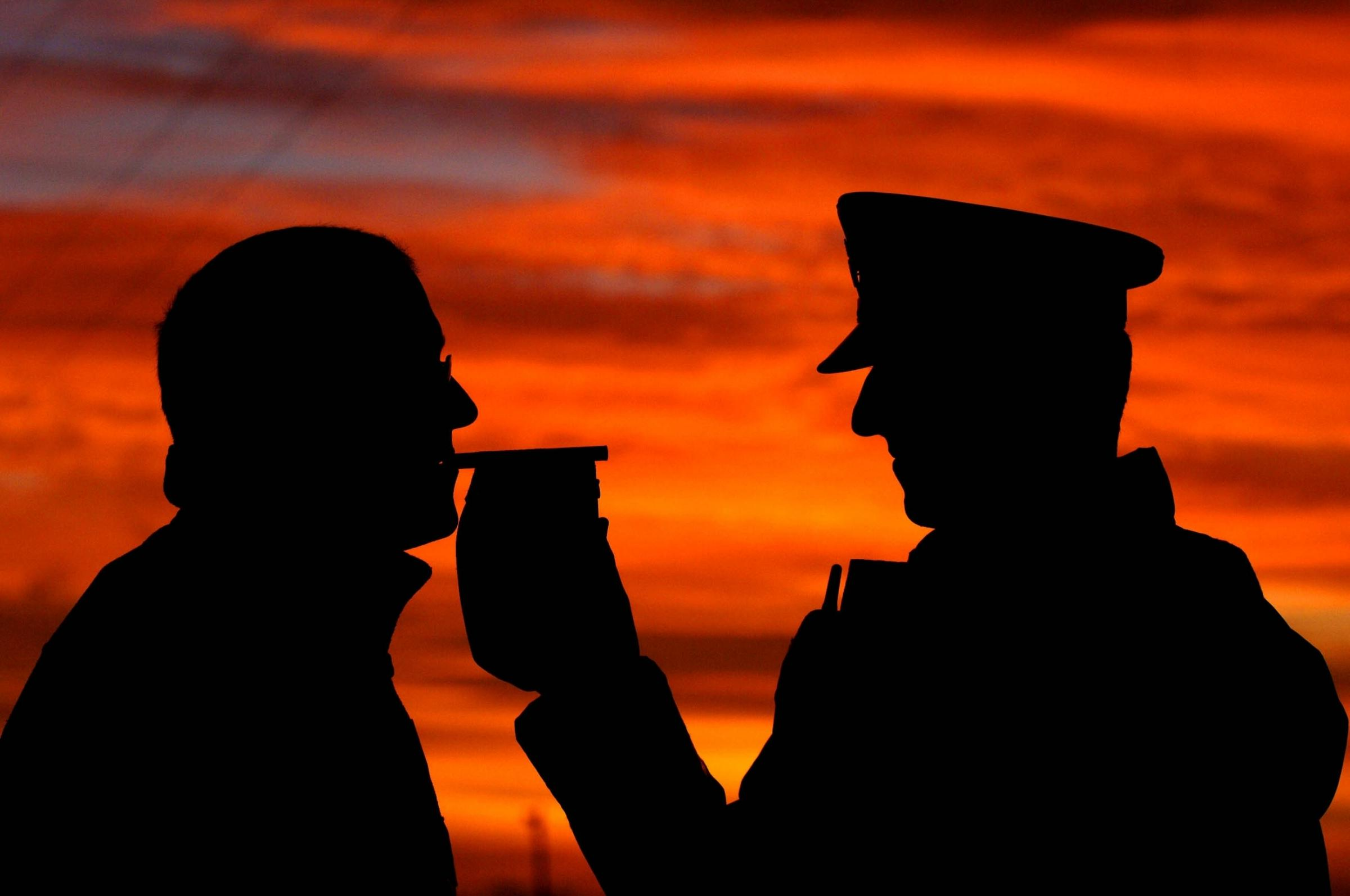 Peugeot driver is banned for drink-driving near Winchester