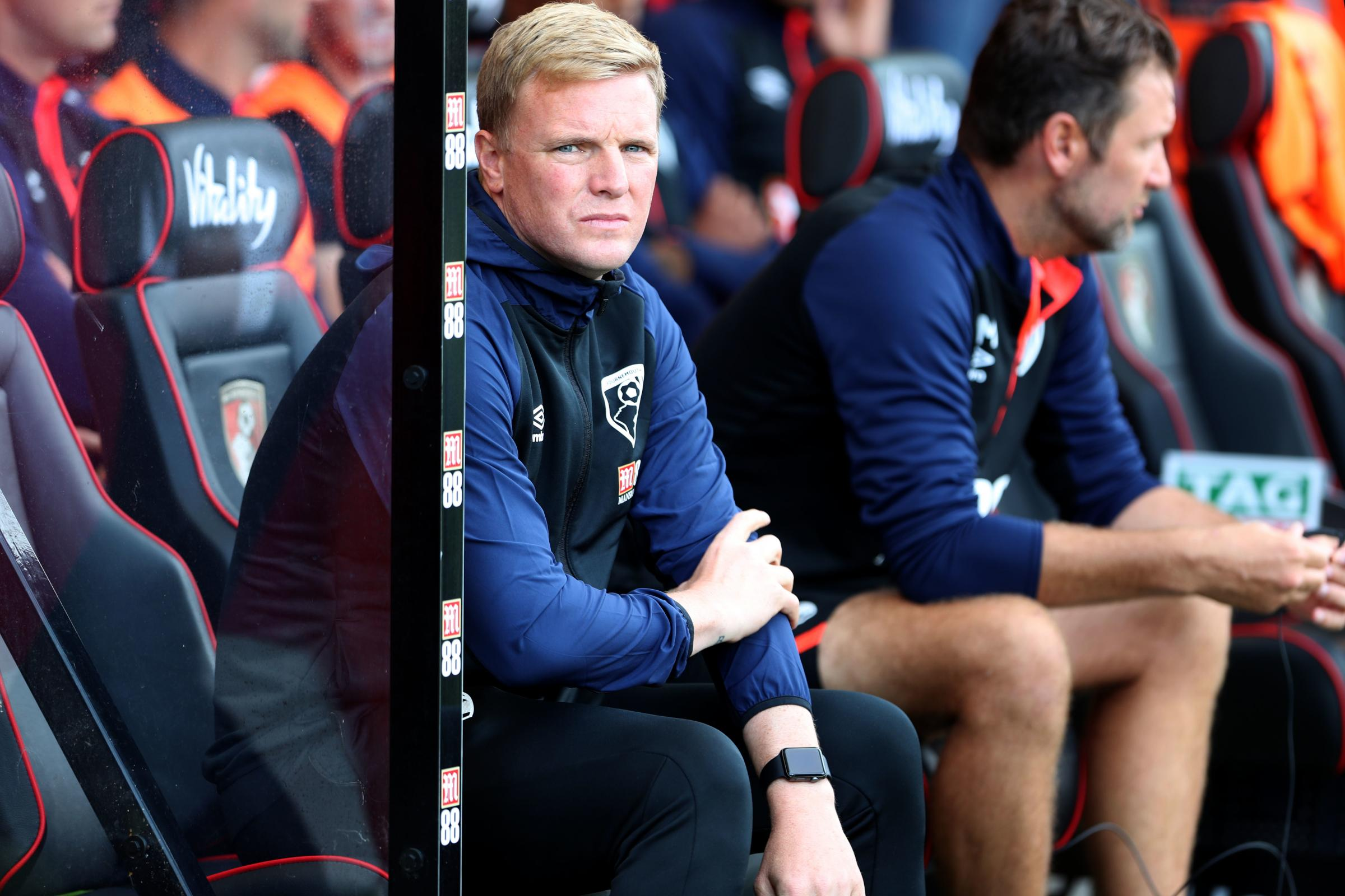 HONEST APPRAISAL: Eddie Howe hopes Cherries can be back at their best against Brighton this afternoon