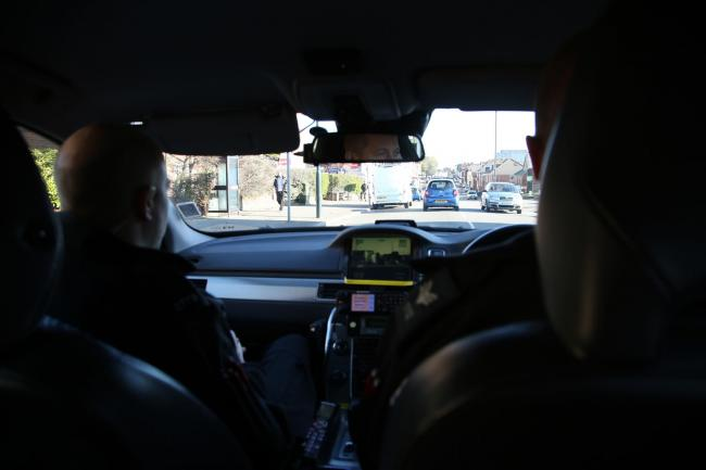 Officers from No Excuse stopped motorists in Bournemouth