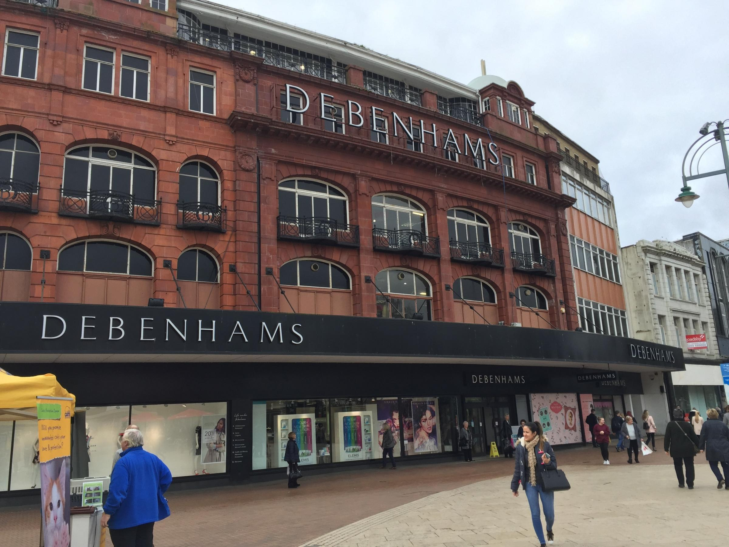 Debenhams gets £50m cash injection to boost Christmas ranges