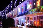 The annual Christmas light switch on takes place at Byron Road in New Milton..