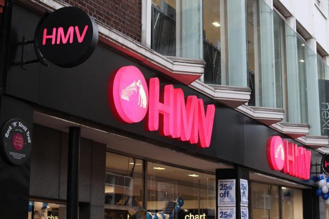 HMV has been rescued by Sunrise Records
