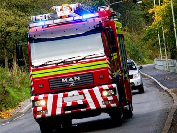 Emergency services called to van fire in Christchurch on bank holiday
