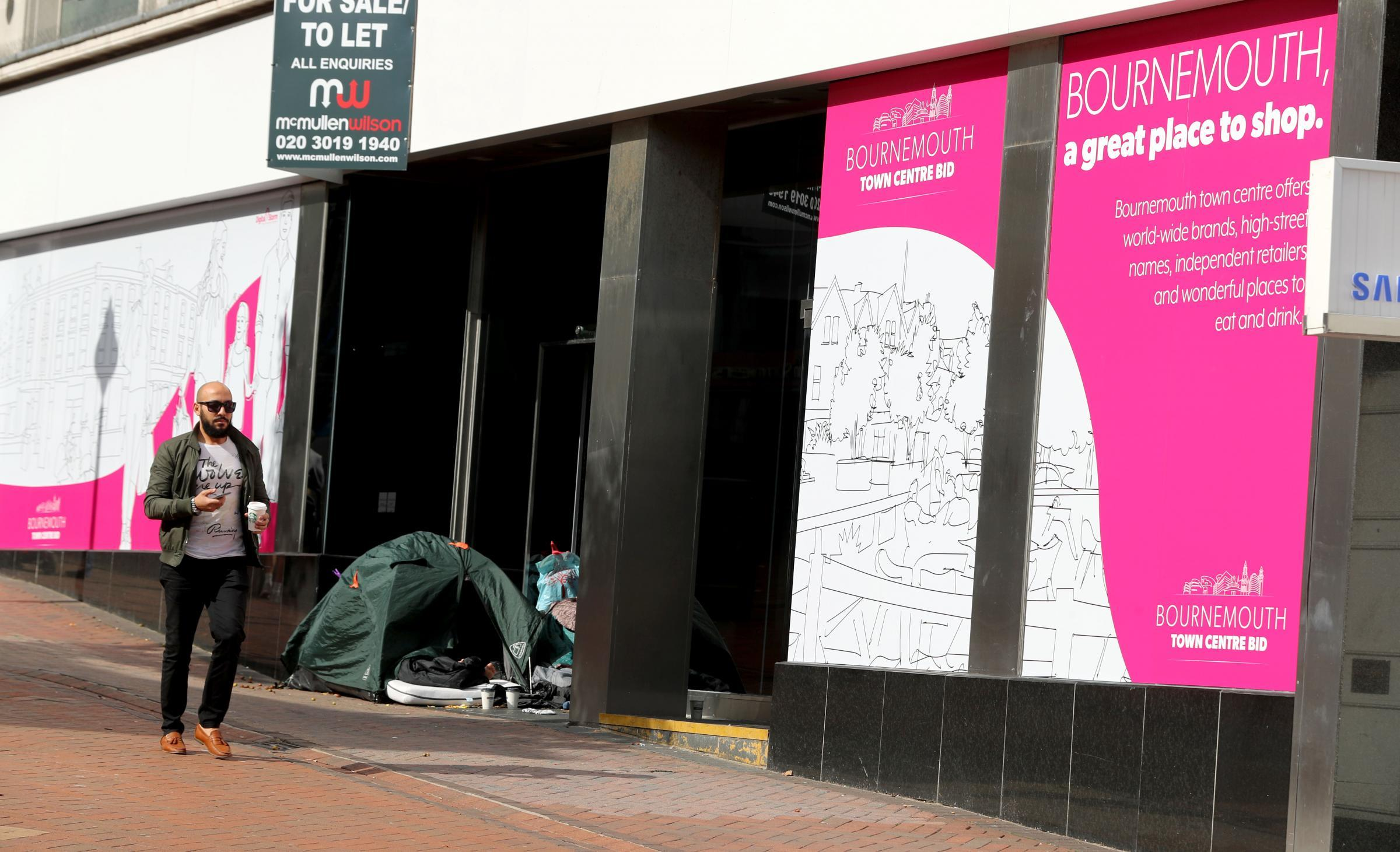 Rough sleepers are 'putting visitors off returning to Bournemouth'