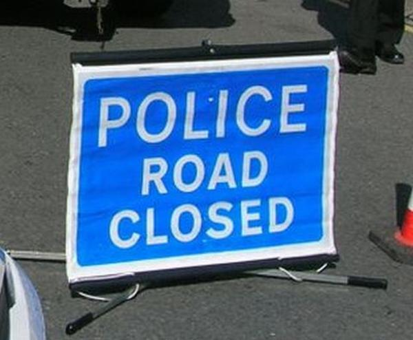 A31 was closed between Canford Bottom roundabout and Merley roundabout