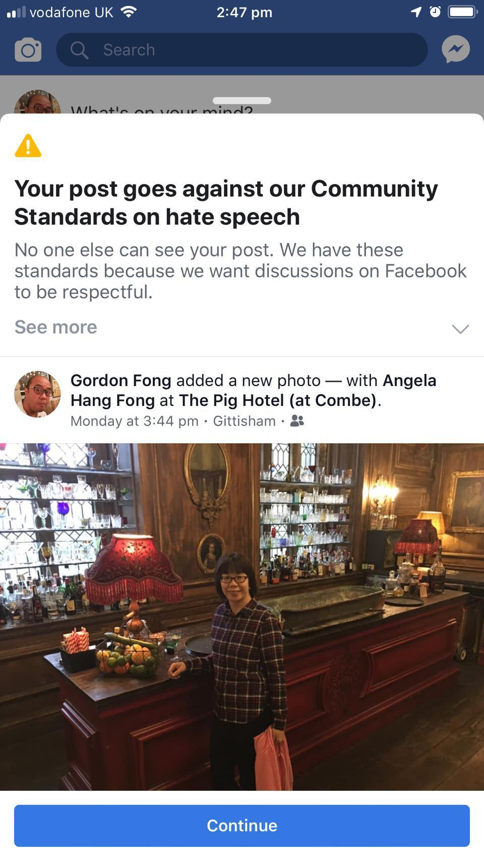 Hate Speech Row As Facebook Rejects Couples Photos Bournemouth Echo