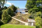 Pic: Savills/BNPS: This James Bond-style contemporary home in Avon Castle has gone on the market for £2.5m.
