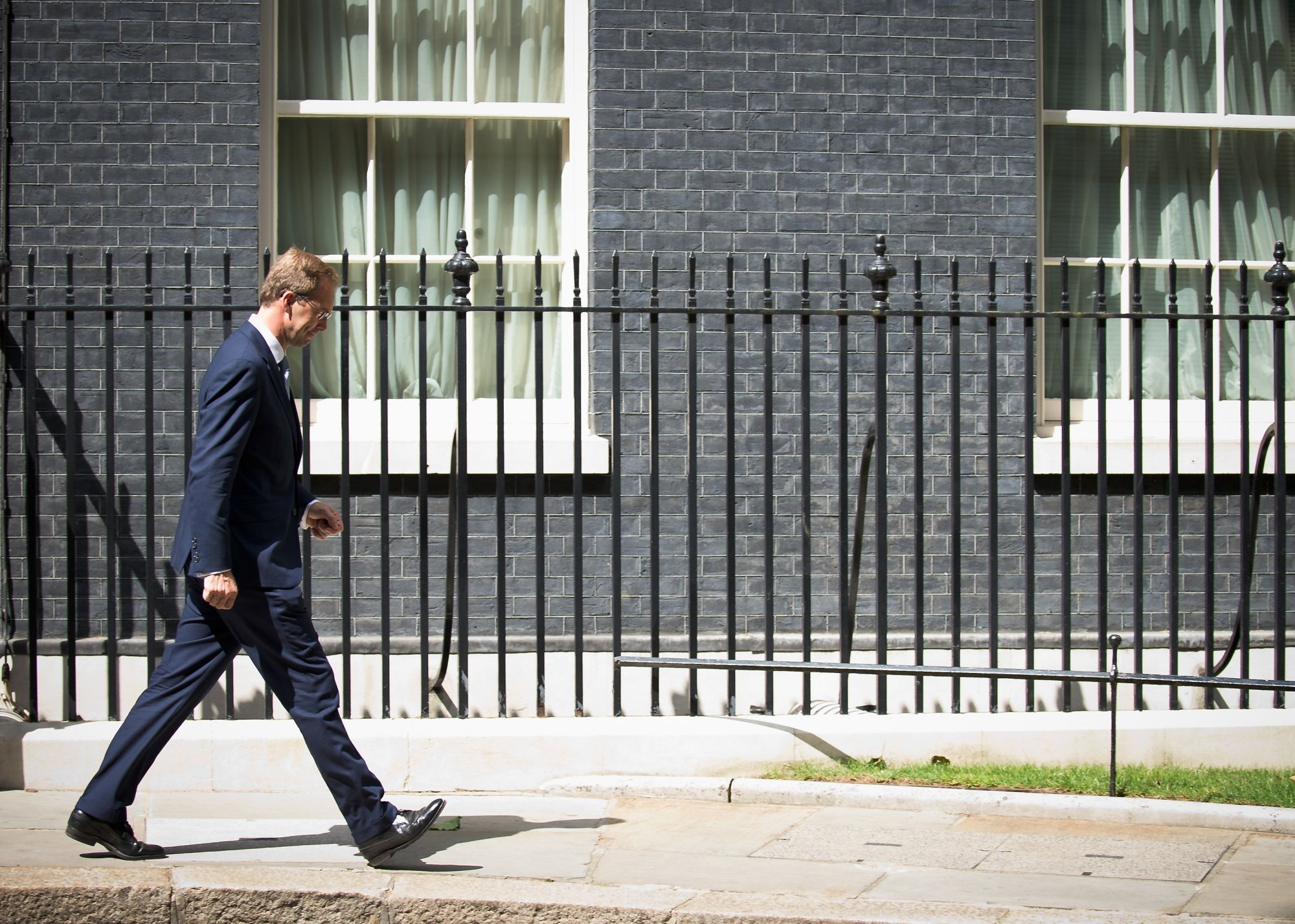 Defence minister Tobias Ellwood abstained in the no-deal vote