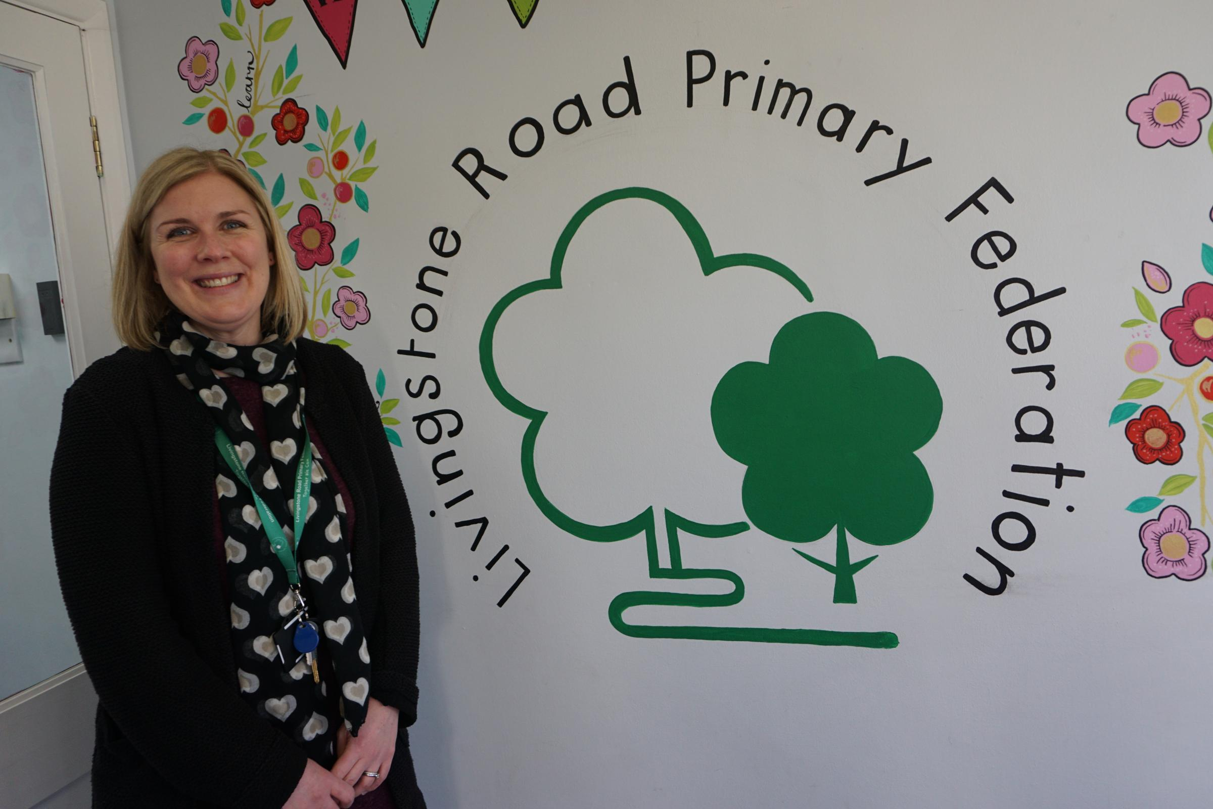 Suzy Hayward, executive head teacher of Sylvan Infant School and Branksome Heath Junior