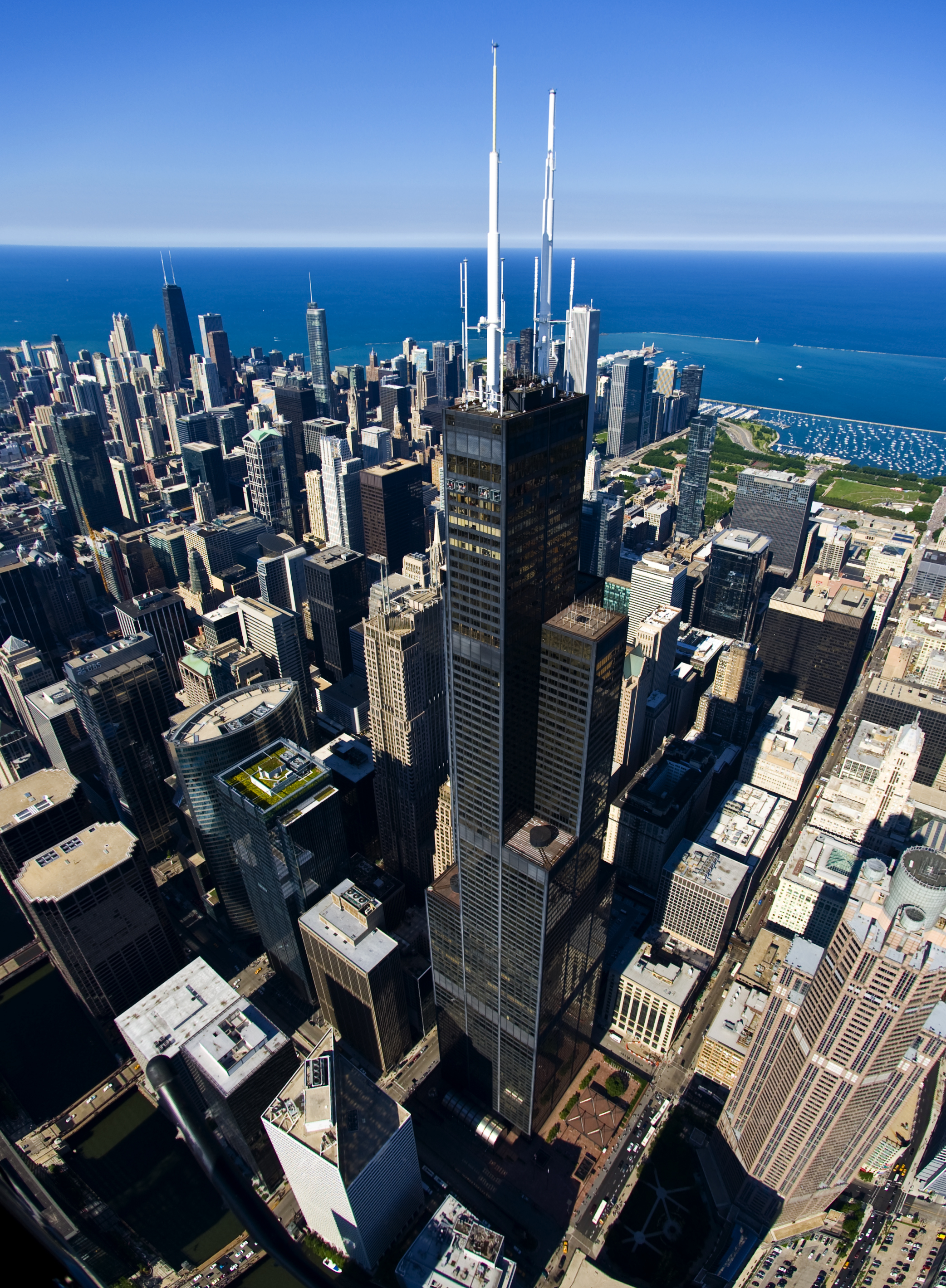 The Willis Tower, Chicago, formerly known as the Sears Tower