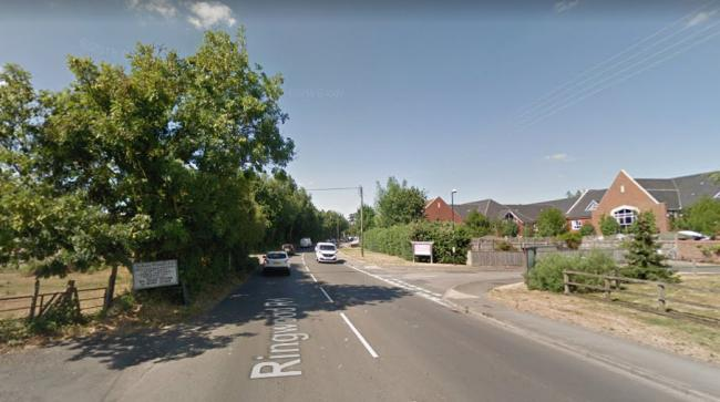Ringwood Road at Longham. Picture: Google Street View