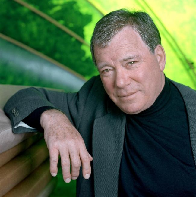 William Shatner says he isn't joining the cast of a Dorset-based film. Image courtesy of PA Photo/williamshatner.com