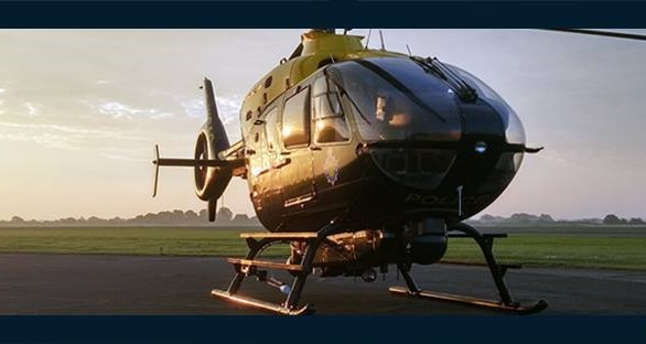 The National Police Air Service (NPAS) helicopter was involved in a search