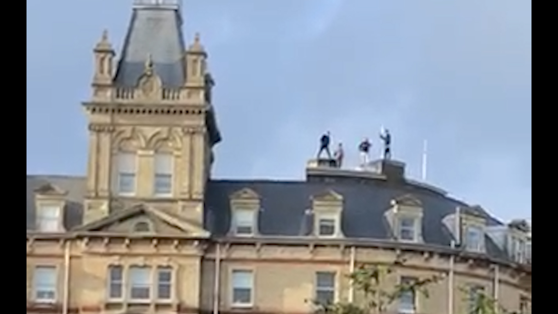 Rooftoppers hit Bournemouth Town Hall
