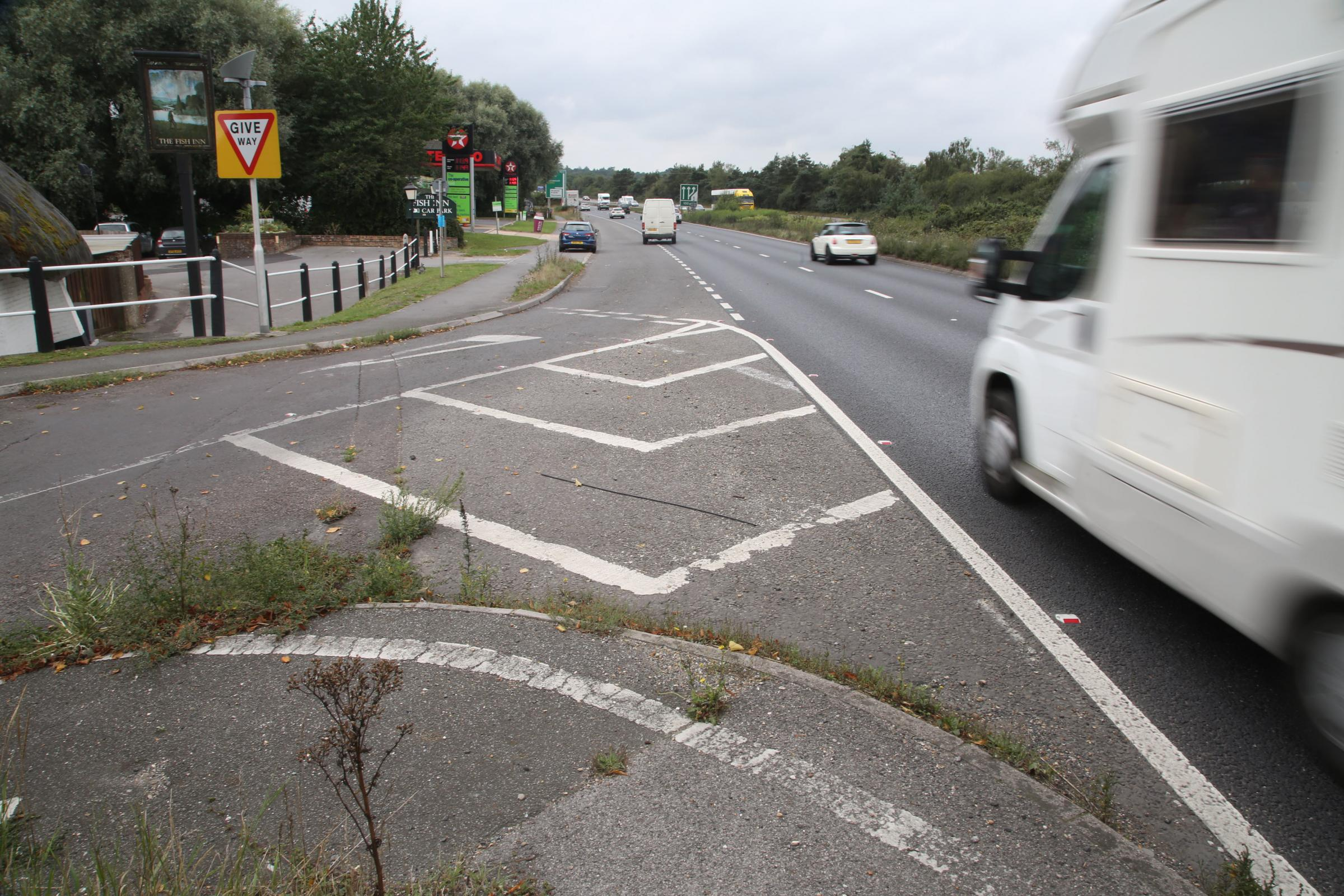 CONCERNS: Highways England still plan to close West Street access to the A31 at Ringwood