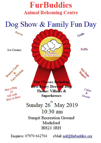 FurBuddies Animal Rehoming Centre Dog Show & Family Fun Day