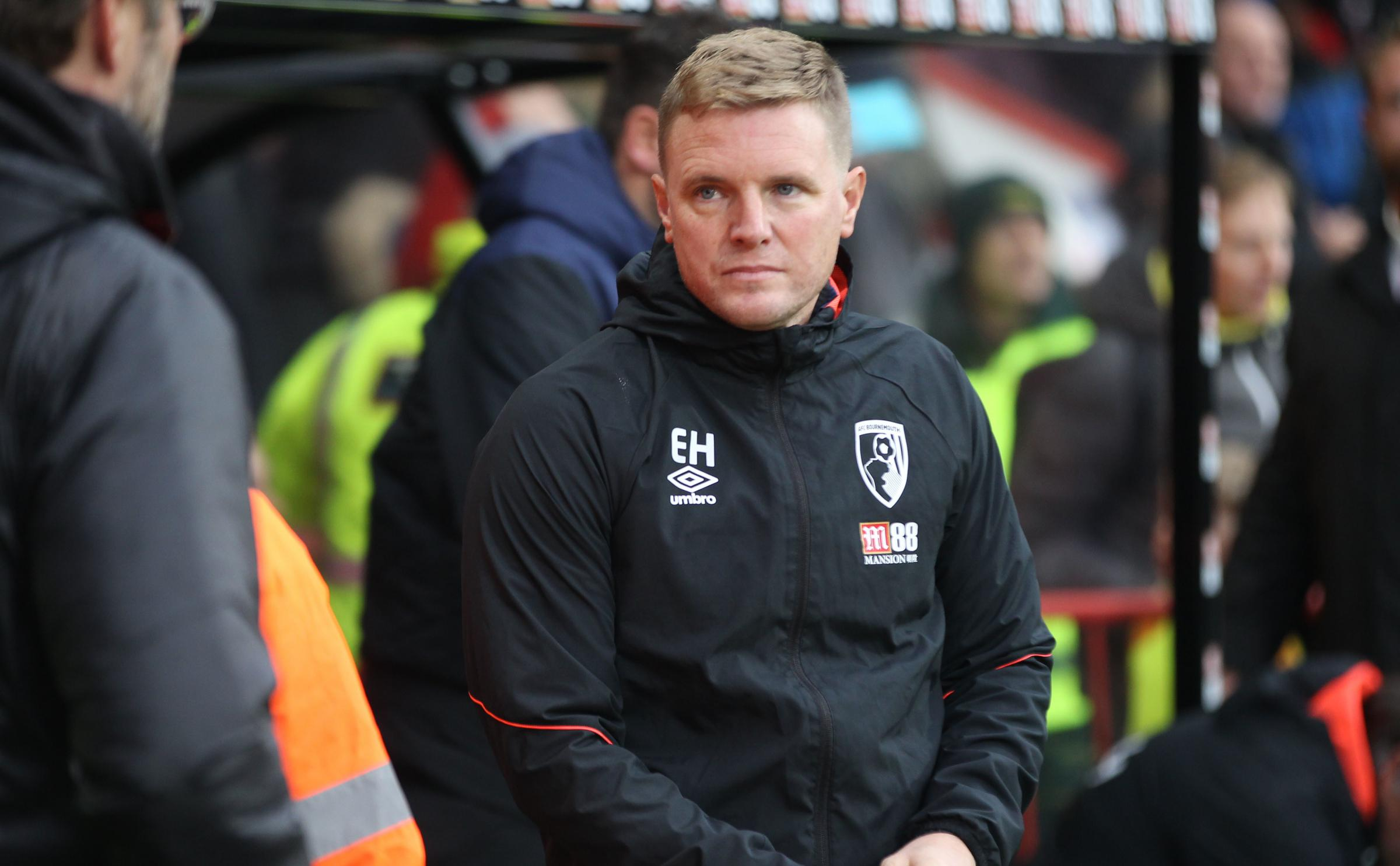 NOT SAFE YET: Cherries boss Eddie Howe know the race for survival is not over