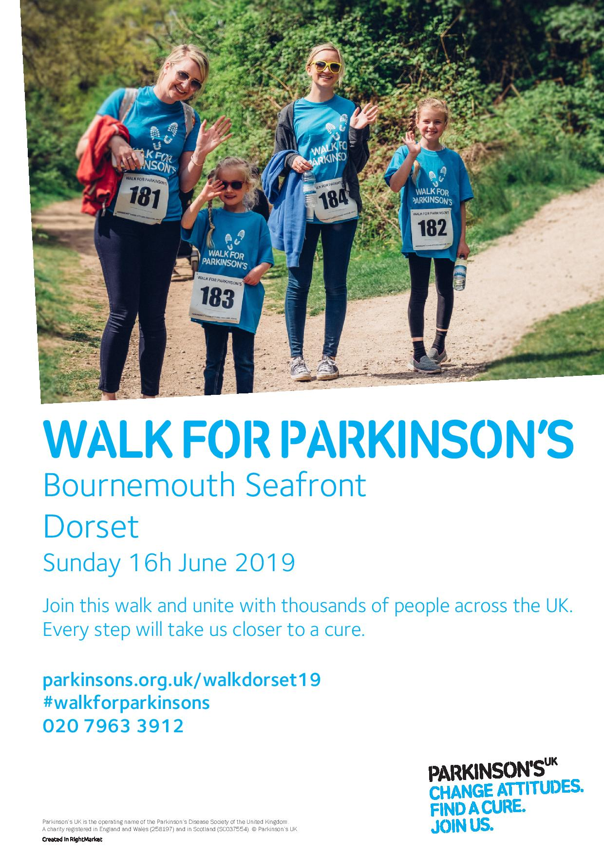 Walk for Parkinson's Dorset