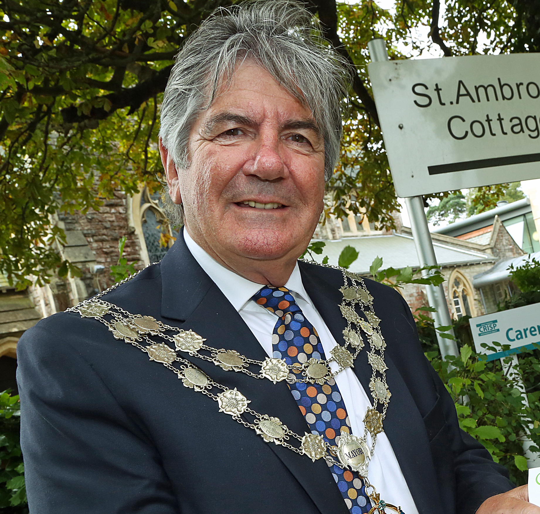 Former Mayor of Bournemouth Cllr John Adams