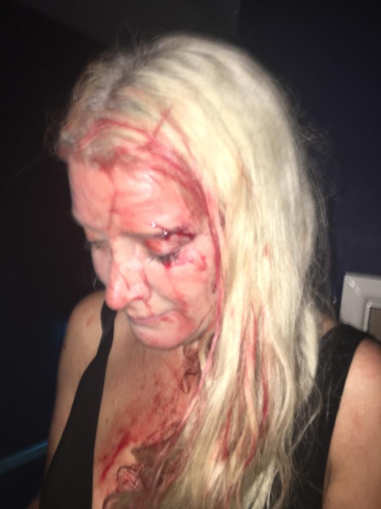 Mercedes Eyre launched an attack at Canvas in Poole Hill, Bournemouth