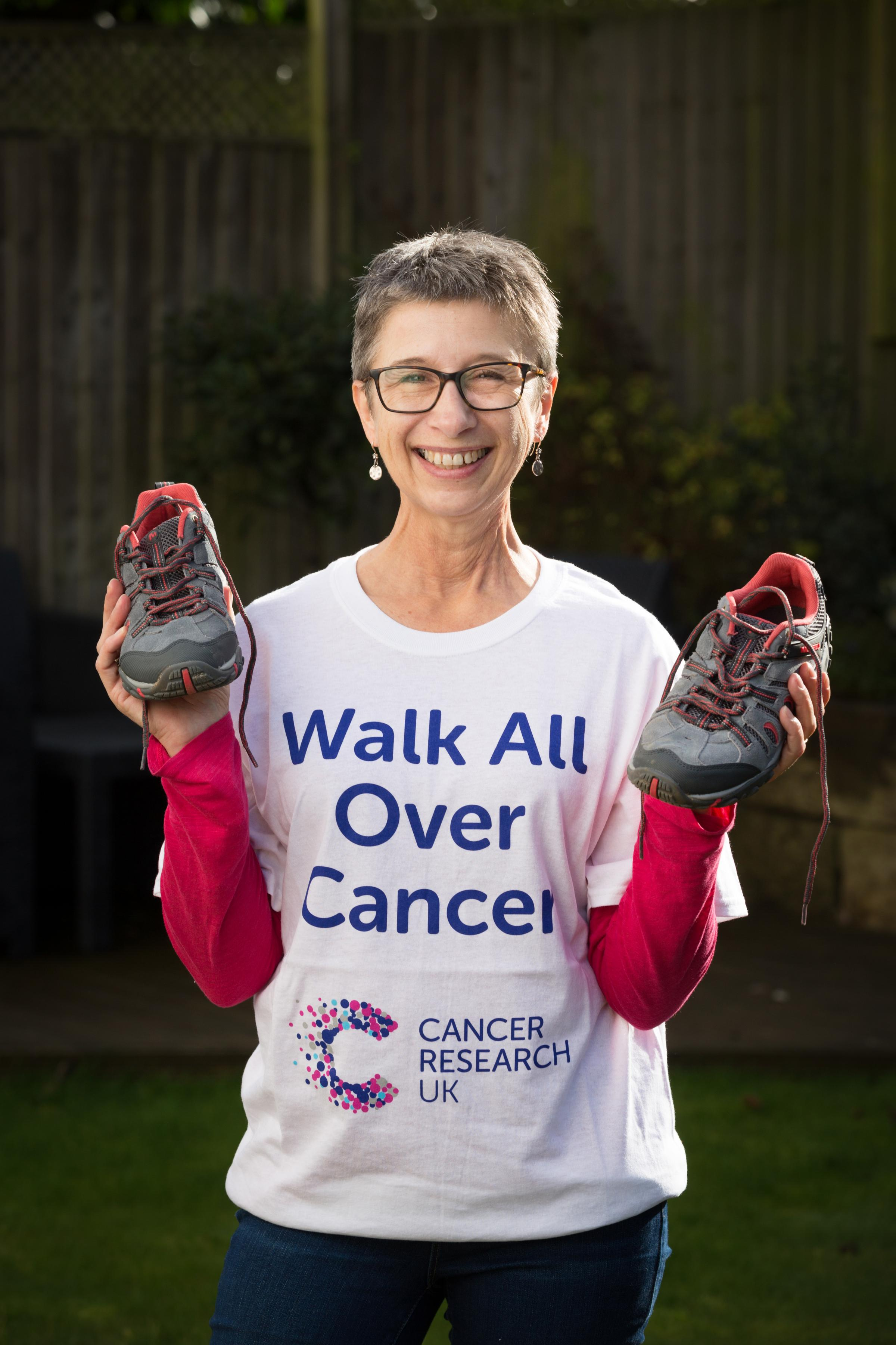 Ali Richards is helping Cancer Research UK