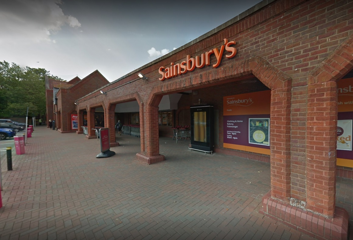 Sainsbury's in Pitwines Close, Poole. Picture: Google Streetview