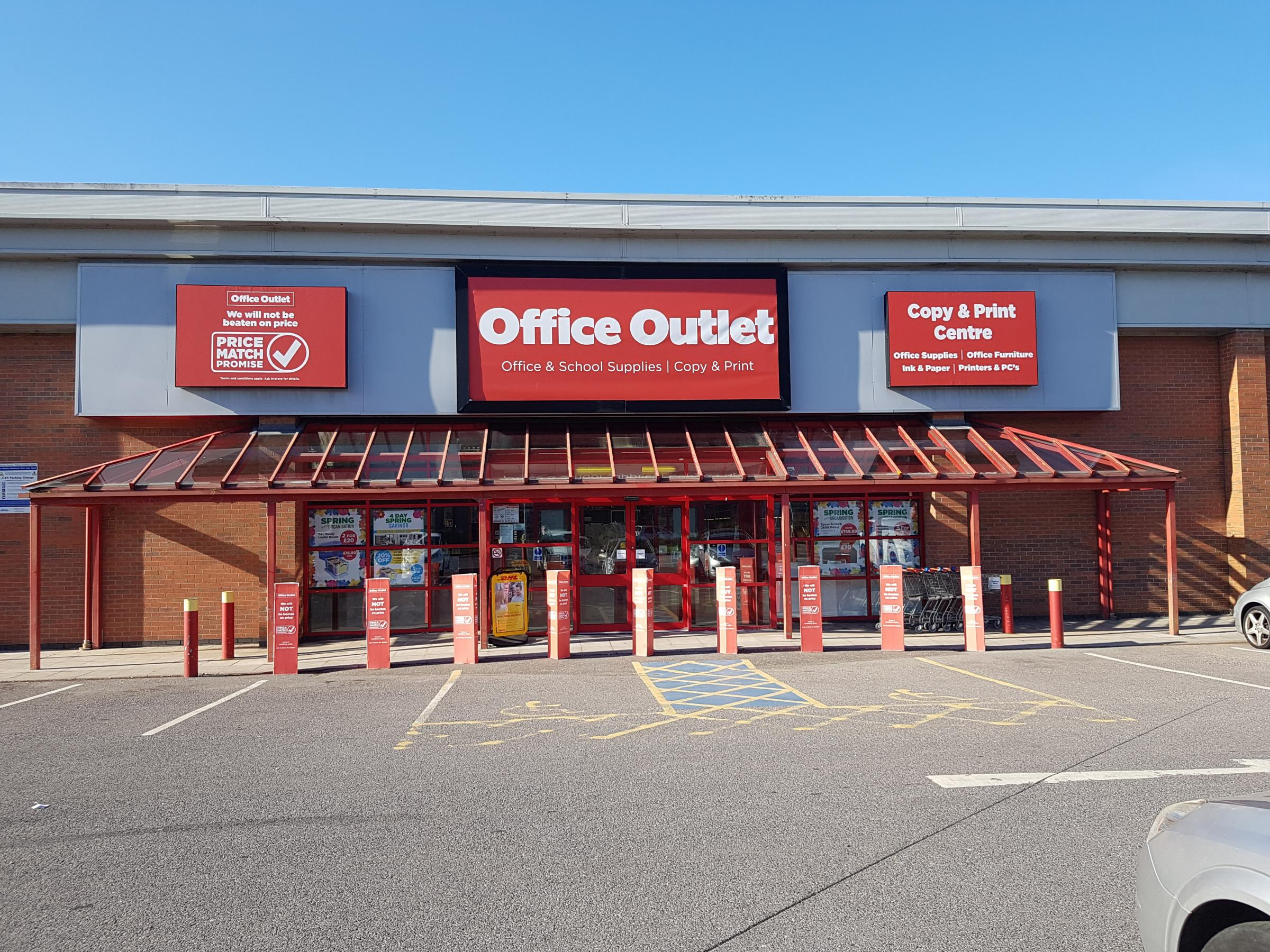 Office Outlet in Holdenhurst Road, Bournemouth