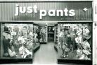 The Just Pants trouser shop that once stood in Poole High Street in 1970. Picture by Kitchenham Ltd.