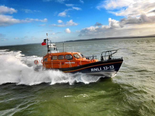 Swanage lifeboat