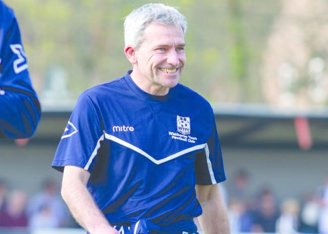 NEW RECRUITS: Wimborne Town boss Matty Holmes (Picture: WTFC)