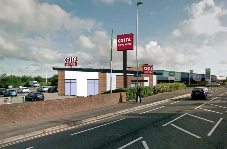 This Is What Pooles New Costa Coffee Drive Thru Will Look