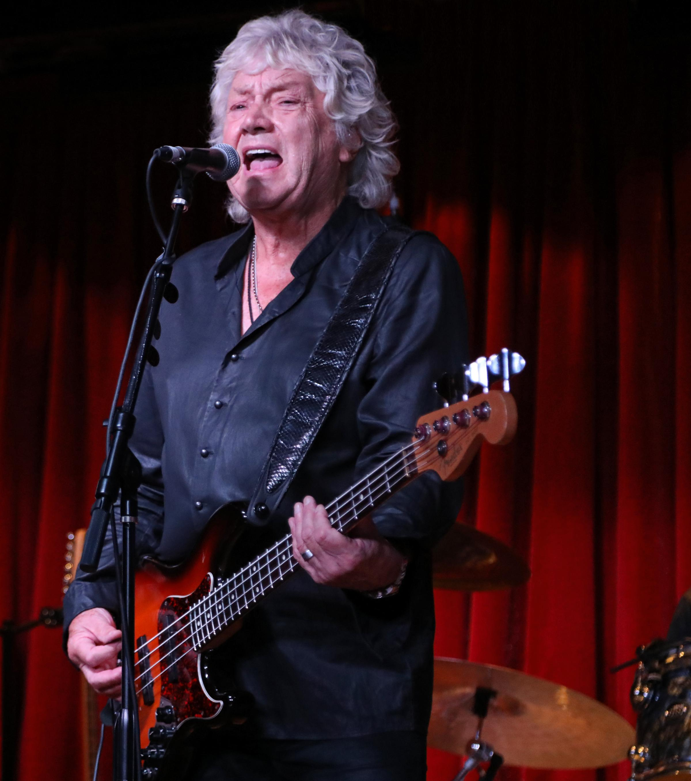 Moody Blues star John Lodge Picture: Glenn Gottlieb
