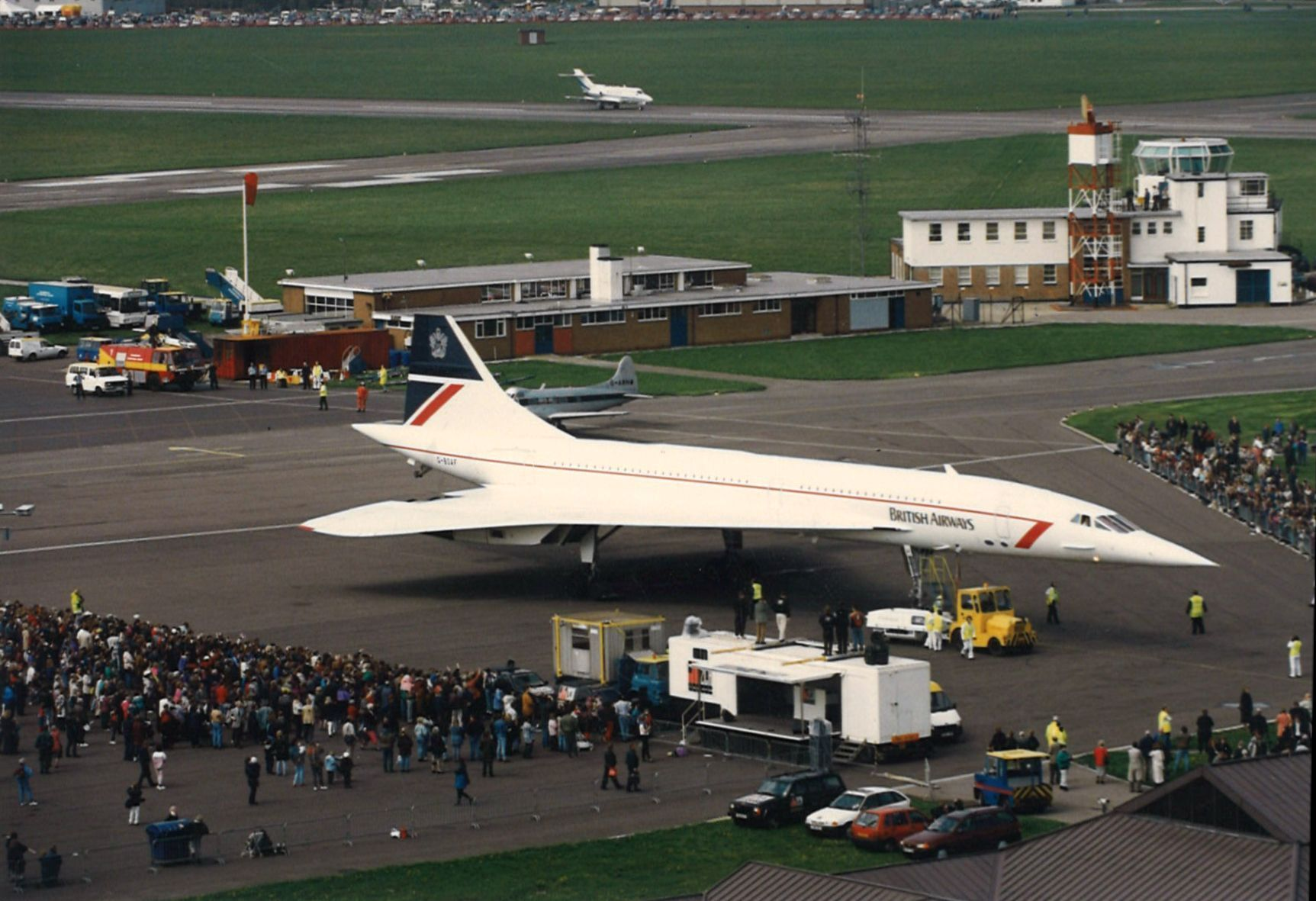 Concorde's visits to Bournemouth Airport