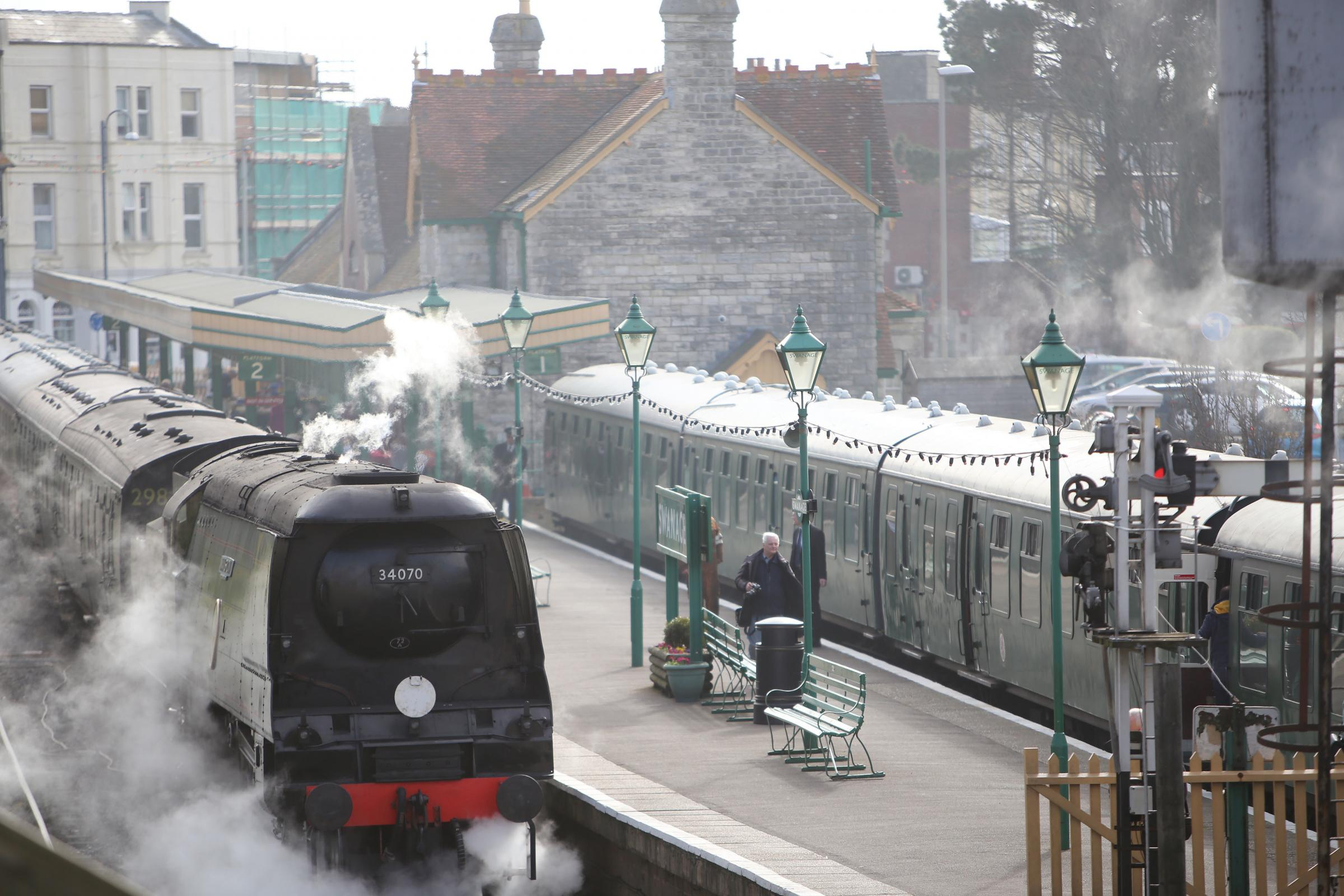Swanage Railway station