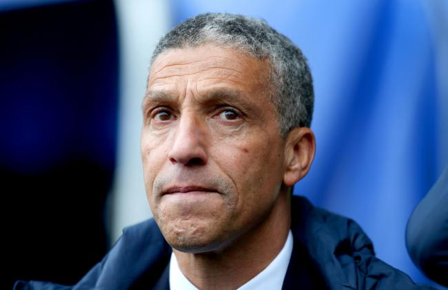 MUTUAL RESPECT: Brighton boss Chris Hughton locks horns with Cherries manager Eddie Howe this weekend (Picture: Steven Paston/PA)