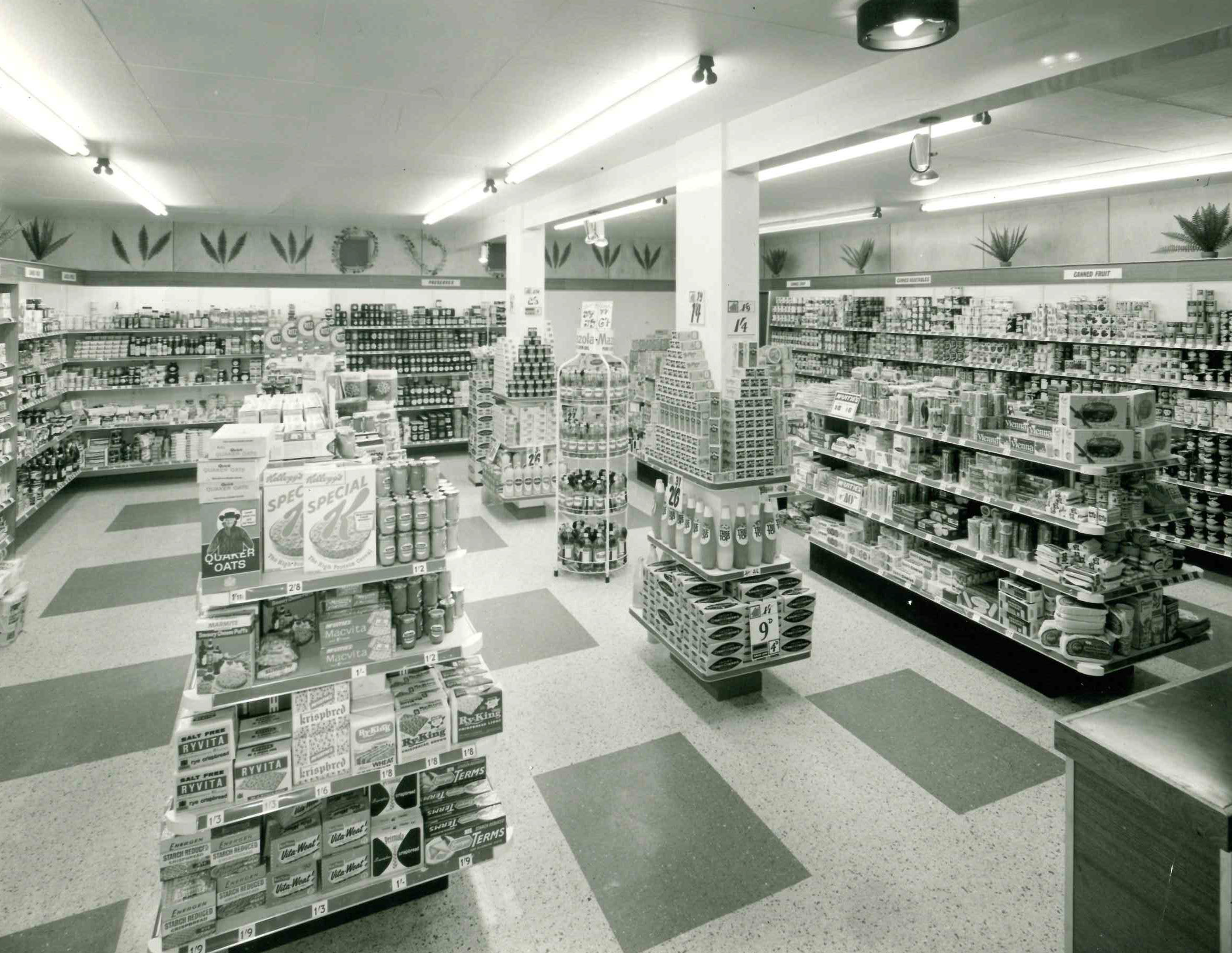 The inside of Williamson and Treadgold store in the Arcade, Bournemouth, in April 1966. Williamson and Treadgold first traded in Bournemouth in 1882. At its peak, the firm had more than 20 stores spanning the area from Fawley to Torquay. Williamson and Tr