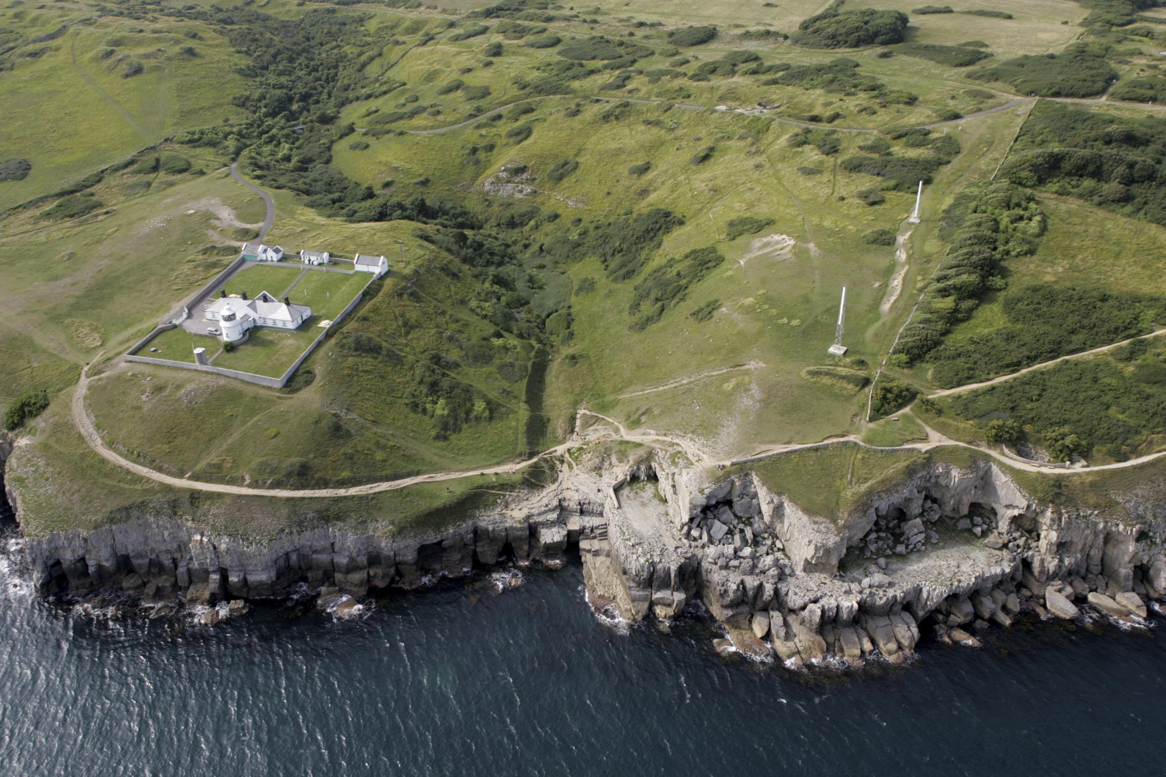 Durlston Country Park. Photo with the assistance of Bliss Aviation