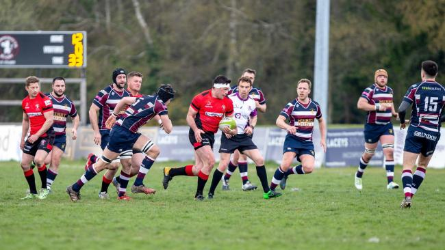 Alan Manning scored his fourth try of the season (Picture: Simon Carlton)