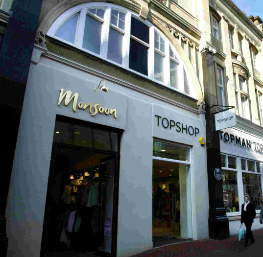 High street struggles as Monsoon and Accessorize close shops