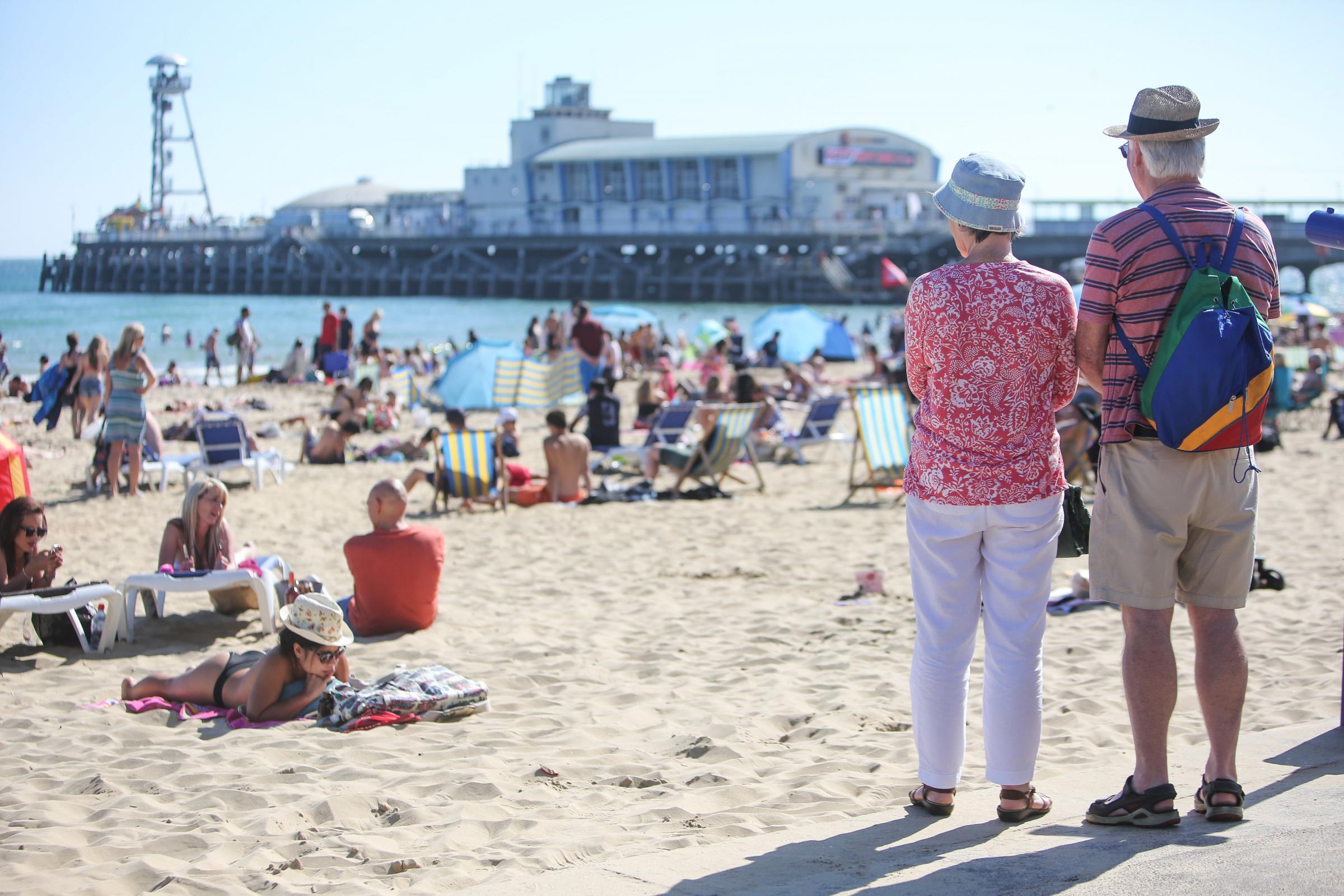 Here's the weather forecast for this weekend (and it'll be nicer in Dorset than in Malaga)