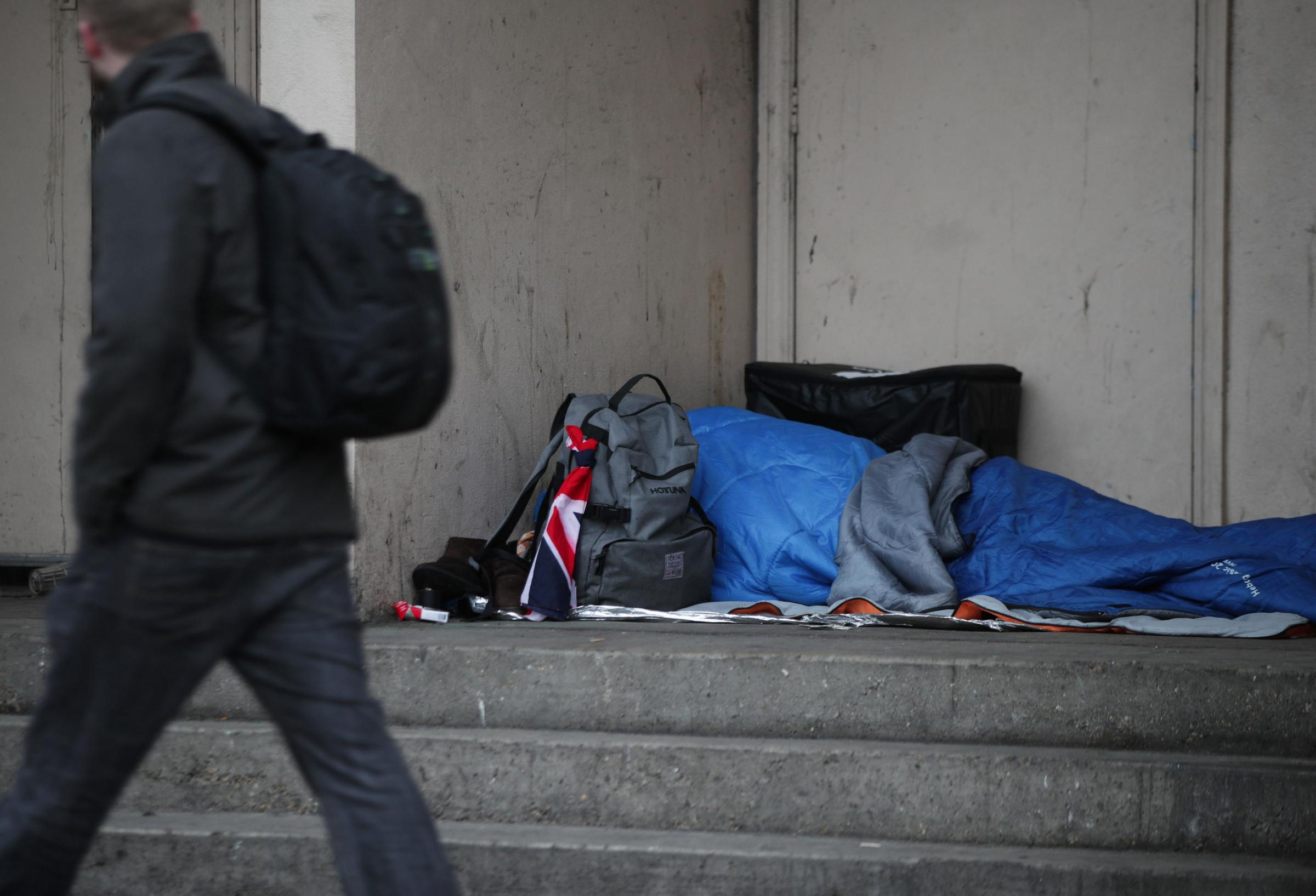 Councils accused of 'social cleansing' of homeless people by issuing fines