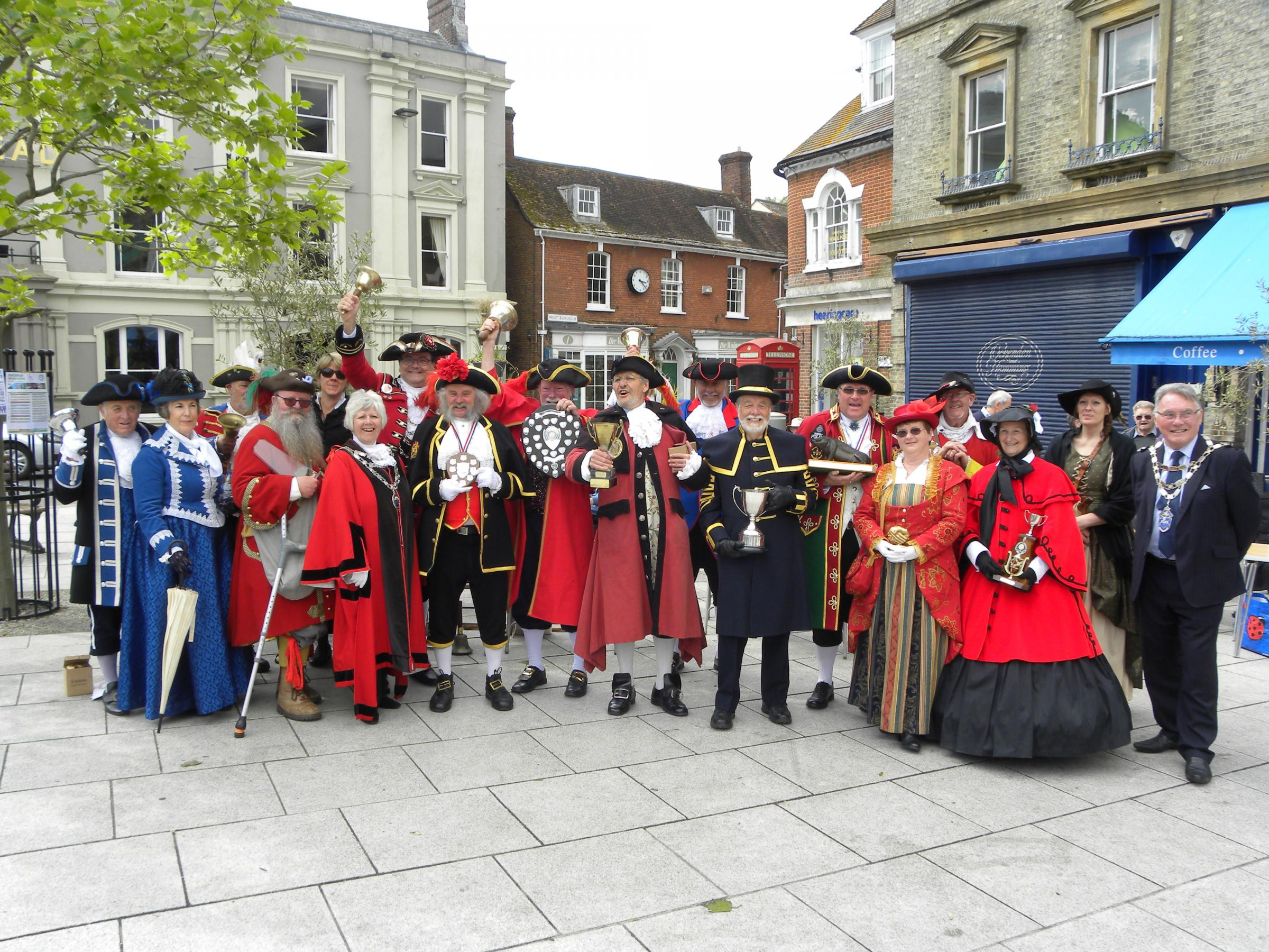 The Southern England Town Crier's Competition returns to Wimborne on May 6, 2019