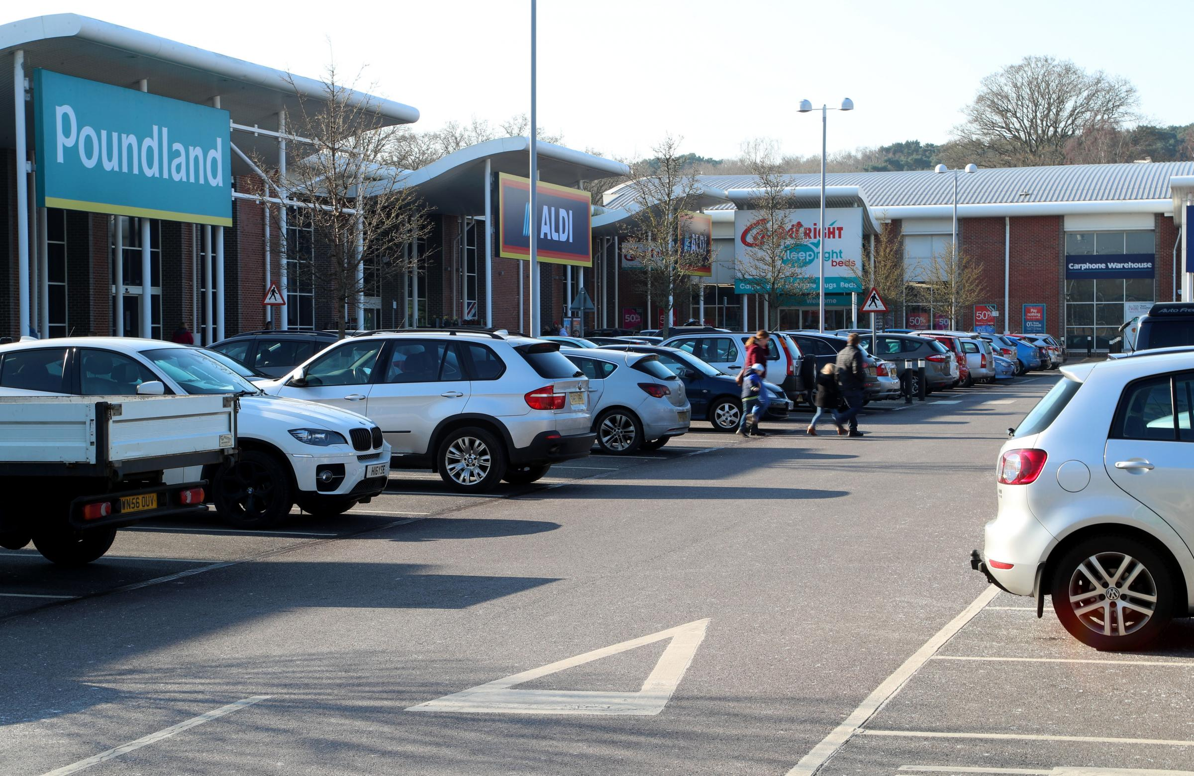 Stock picture. .The Mallard Road Retail Park in Bournemouth. ..