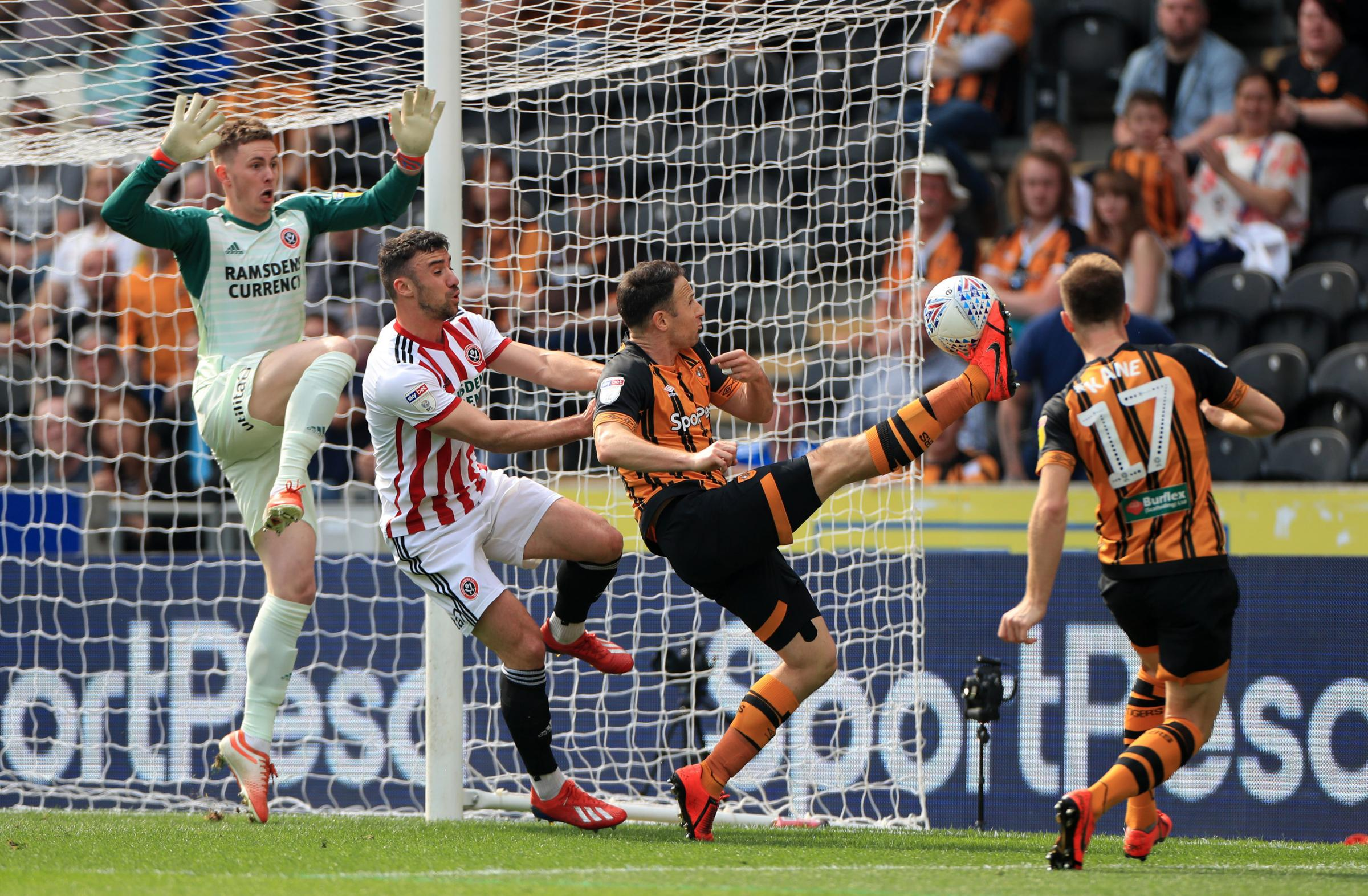 LOAN STAR: Marc Pugh in action for Hull City (Picture: Mike Egerton/PA)