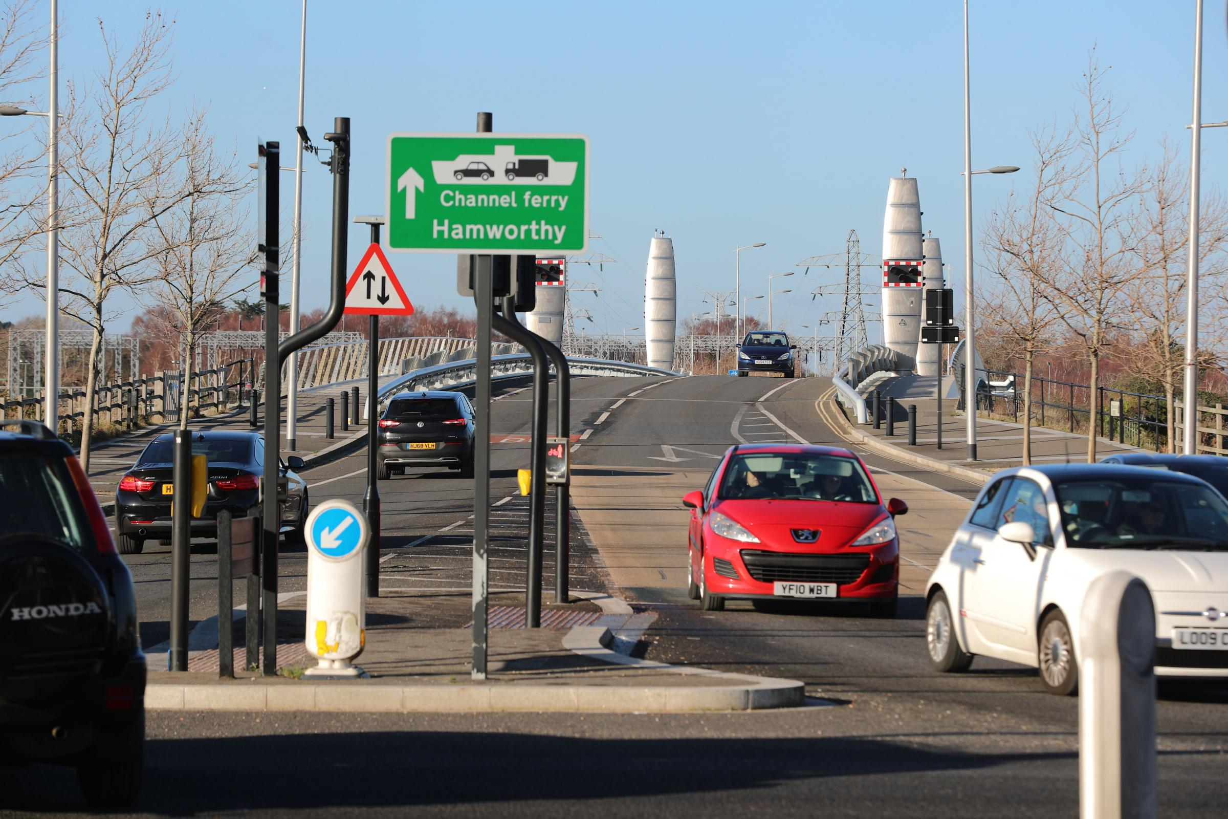 The Twin Sails Bridge. File picture.