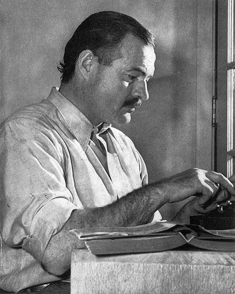 Weekend column: Writer's block? Be more Hemingway (and consider yourself lucky you're not F. Scott Fitzgerald)