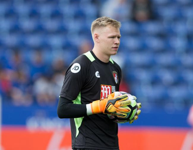 Leicester City vs Bournemouth at The King Power Stadium, FA Premier League 21st May 2017 - Aaron Ramsdale of AFC Bournemouth.