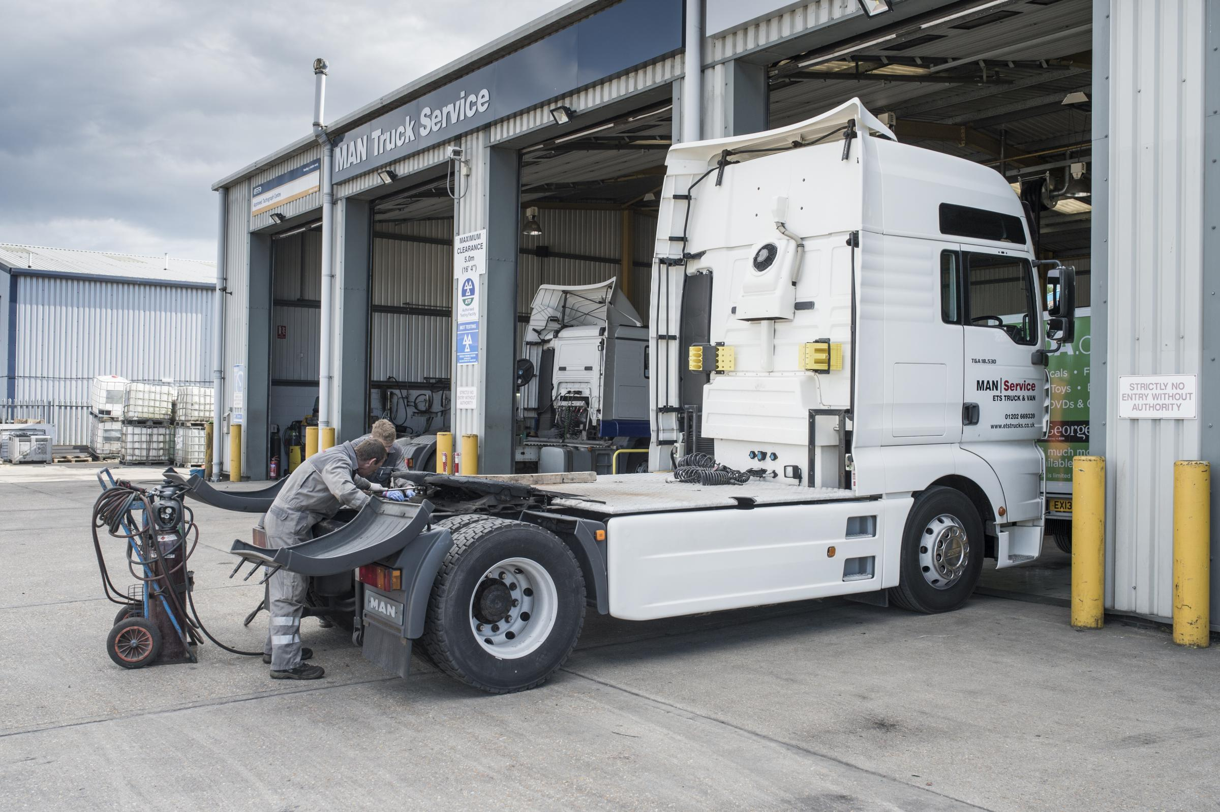 ETS Truck & Van in Poole has been named among the best MAN dealers in the world