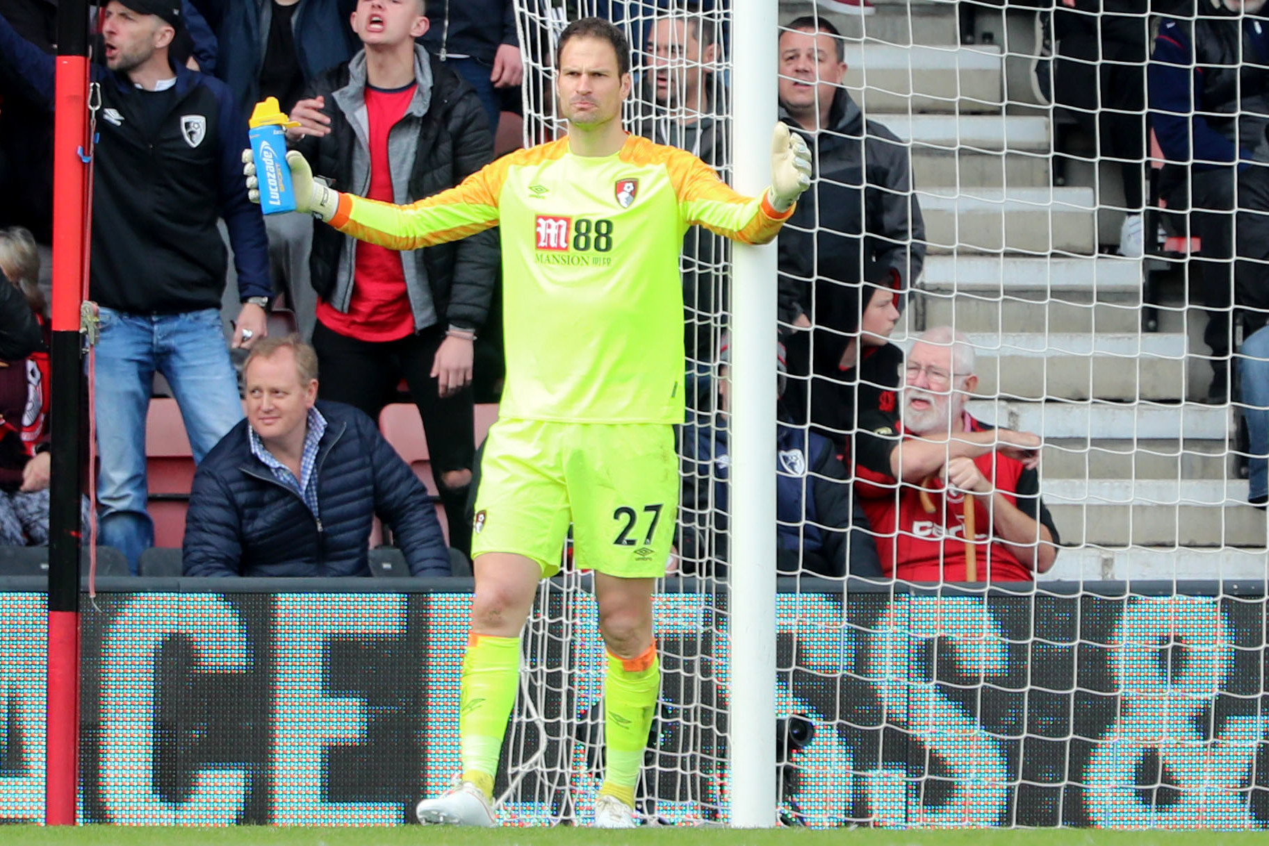 There's been no fall out with Begovic, says Howe