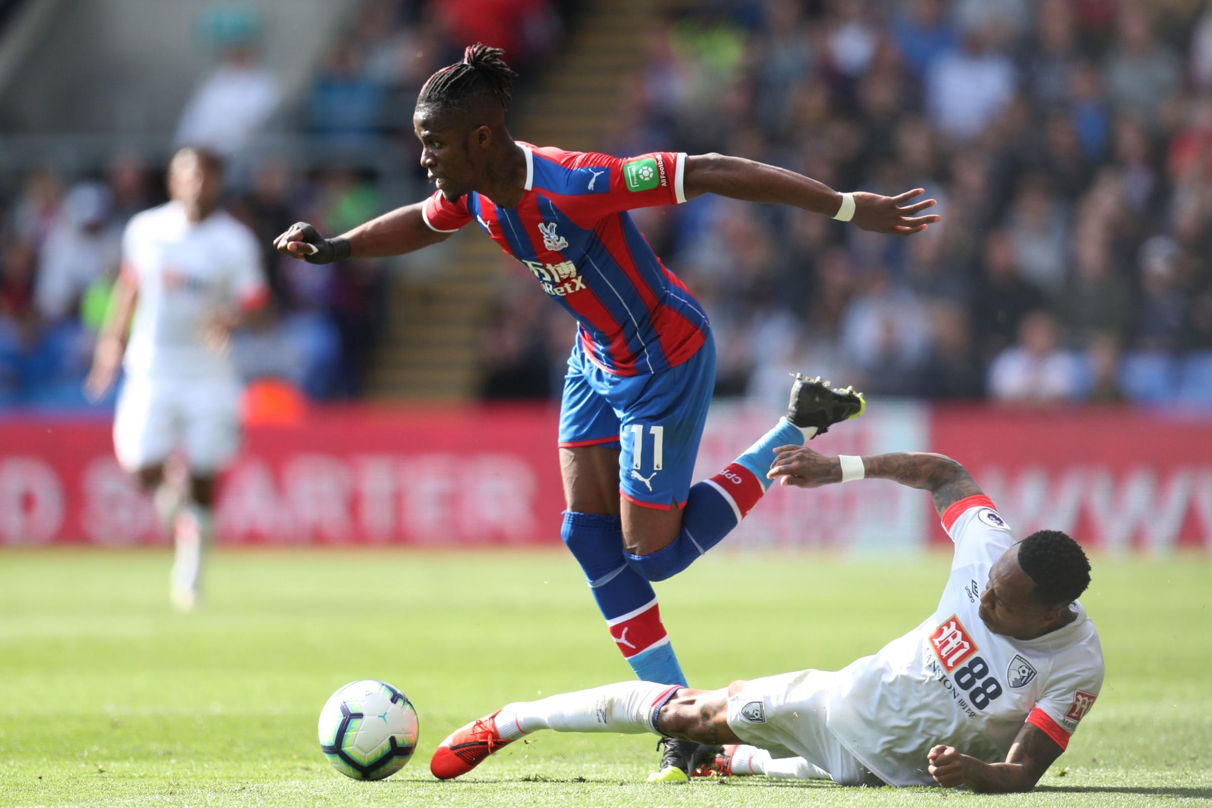 Zaha 'dominated the game' against Cherries, says Ake